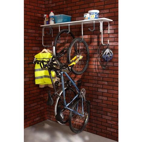 Râtelier mural 5 vélos Mottez
