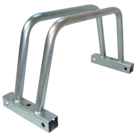 Râtelier porte-vélos 1 place modulable Velo 1, avec capuchons, fixations et liaisons