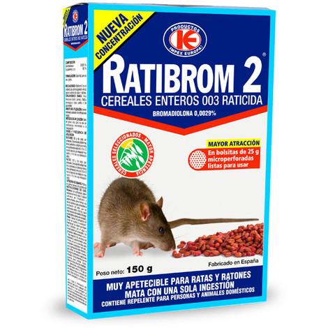 Raticida Grano Cereal 150 G - RATIBROM - D01.325