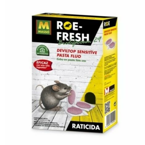 Raticida masso roe-fresh 231518 150 gr