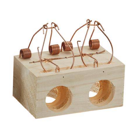 Ratonera bloque con agujeros - varias tallas disponibles