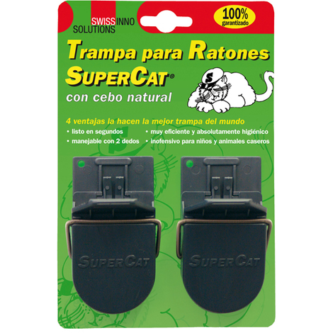 Ratonera supercat swissinno solutions - varias tallas disponibles