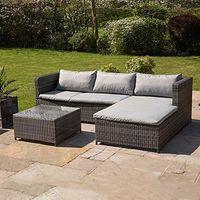 Rattan Corner Sofa Garden Set