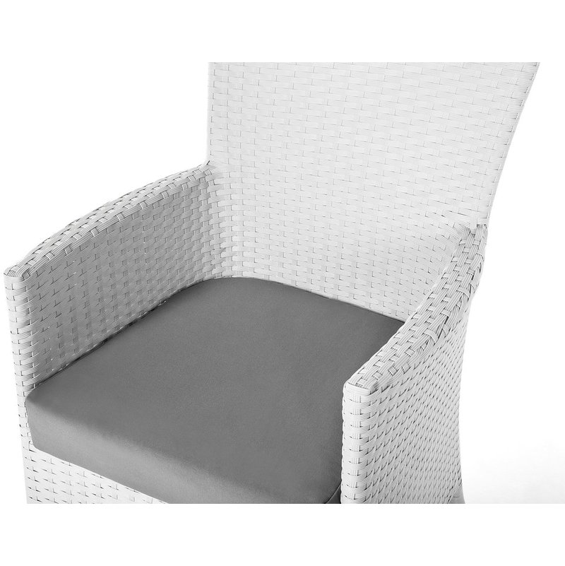 Incredible Rattan Dining Chair White Italy Ncnpc Chair Design For Home Ncnpcorg