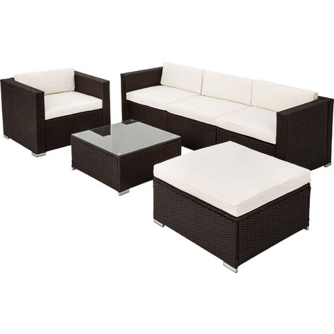 Rattan garden furniture lounge Milan - garden sofa, rattan sofa, garden sofa set
