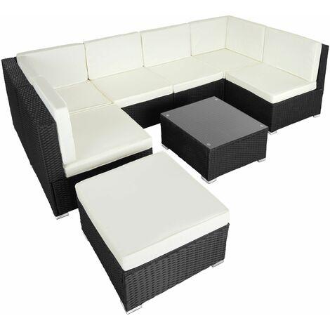Rattan garden furniture lounge Venice - garden sofa, garden corner sofa, rattan sofa