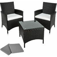 Best price Black ratten tables