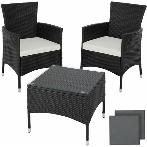 Rattan garden furniture set Lucerne - garden tables and chairs, garden furniture set, outdoor table and chairs