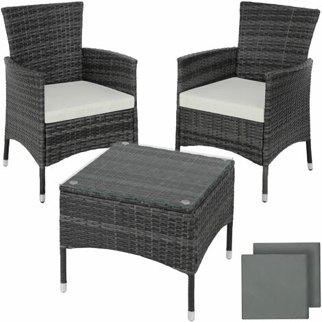 """main image of """"Rattan garden furniture set Lucerne - garden tables and chairs, garden furniture set, outdoor table and chairs"""""""