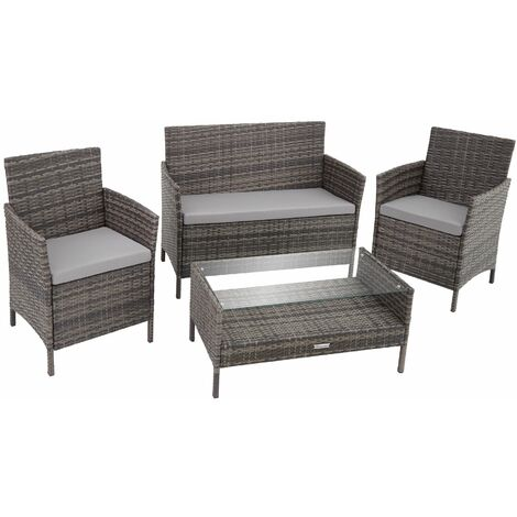 """main image of """"Rattan garden furniture Set Madeira - garden tables and chairs, garden furniture set, outdoor table and chairs"""""""