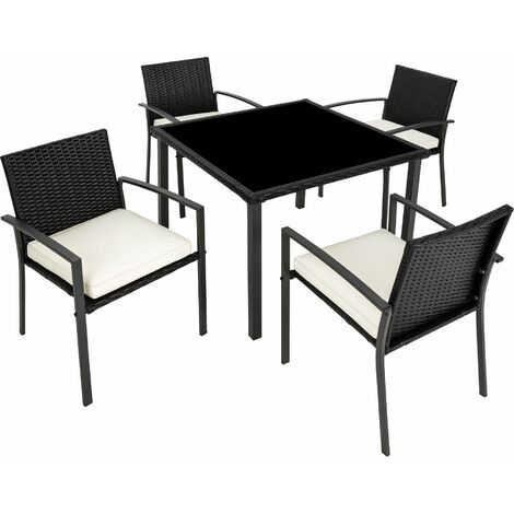Rattan garden furniture set Meran 4+1 - garden tables and chairs, garden furniture set, outdoor table and chairs