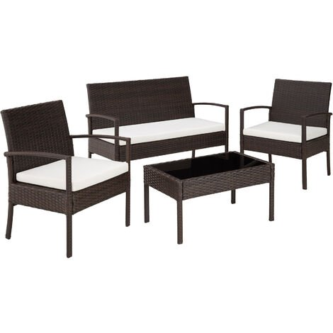 Rattan garden furniture set Sparta 3+1 - garden tables and chairs, garden furniture set, outdoor table and chairs