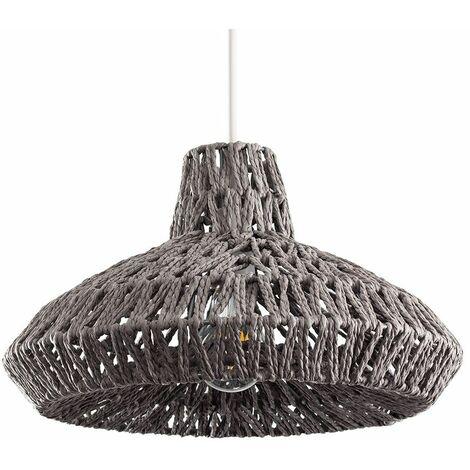 Rattan Wicker Ceiling Light Shade Pendant