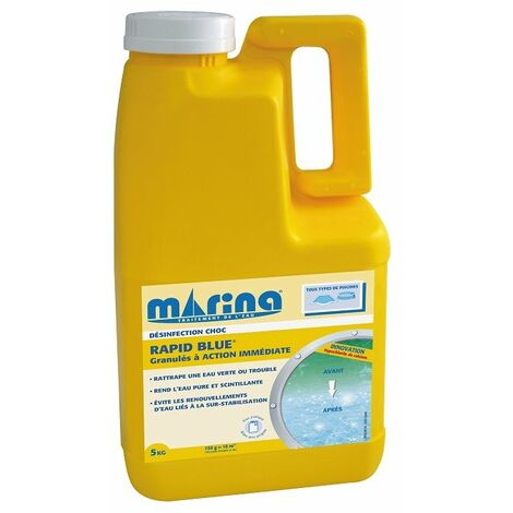 Rattrapage eau verte - Rapid Blue Marina - 5kg