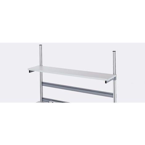 RAU Tablette - mélaminée, profondeur 300 mm - pour largeur table 1200 mm
