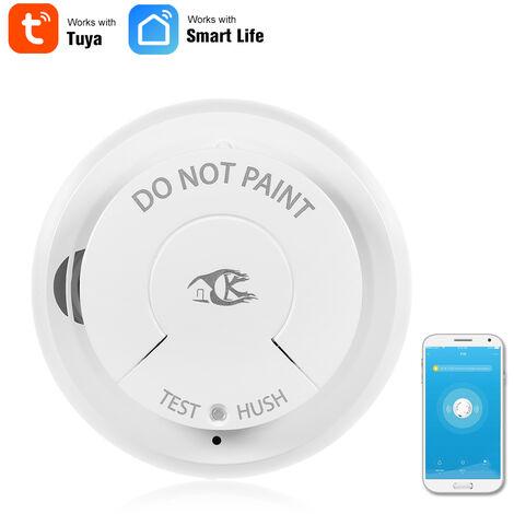Rauchmelder Von Wifi Sensor Alarm Feuer Intelligente
