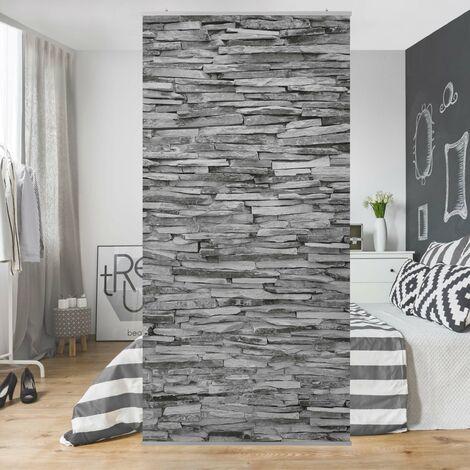 Raumteiler | Vorhang - Arizona Stonewall 250x120cm Größe: 250cm x 120cm