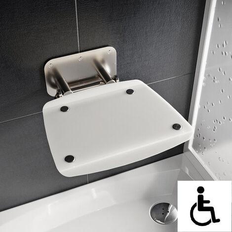 Ravak Ovo-B II-Opal siège de douche rabattable PMR pour cabine de douche (B8F0000052)