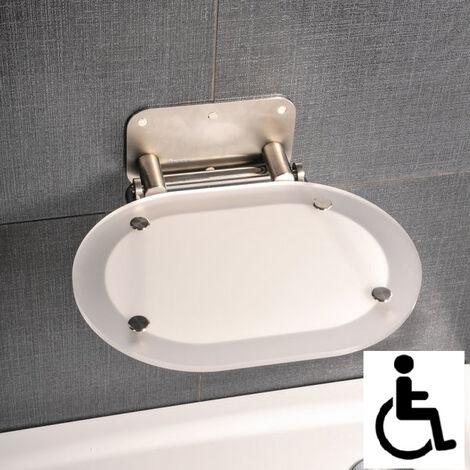 Ravak Ovo Chrome siège de douche rabattable PMR pour cabine de douche (B8F0000029)