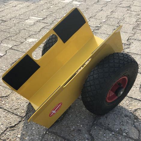 Ravendo Plattenwagen 200 Kg TW 200 L Clamp 60 - 160 mm Schwerlast Lasten Karre Transportkarre Luftreifen Made in Europe