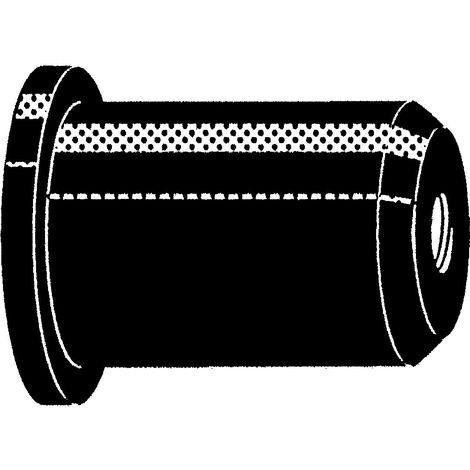 RAWL Ecrou noyé caoutchouc avec bague filetée en laiton Caoutchouc