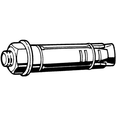 RAWL Expansion shield anchor bolt projecting version Steel Zinc plated 5.8