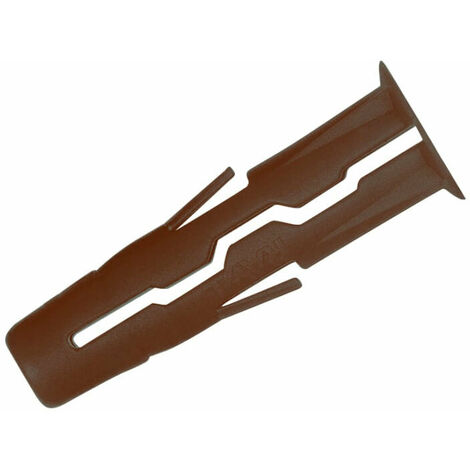 Rawlplug RAW68557 Brown UNO Plugs 7 x 30mm (Pack of 1000)