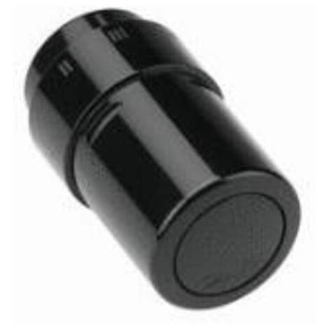 RAX Tete thermostatique couleur noire