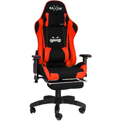 gaming chair Bürostuhl Drehstuhl Sportsitz Chefsessel schwarz // grün