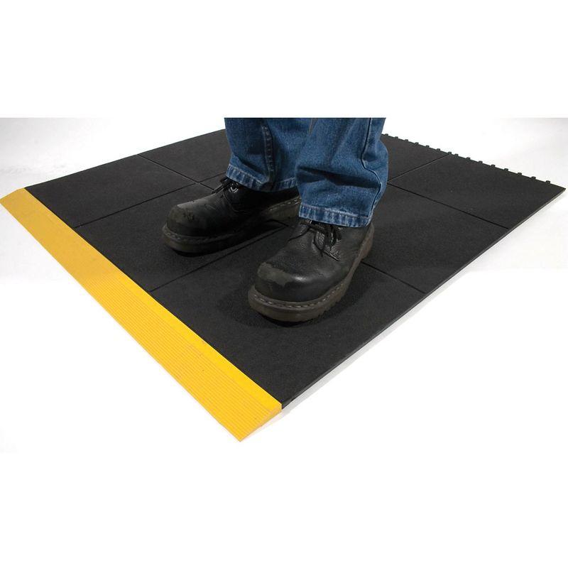 Dalle de sol noire - modèle parois fermées - hauteur 17 mm - Coloris: Noir