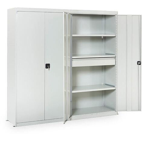 Rayonnage d'atelier galvanisé 5 niveaux : Hauteur 2000 - Longueur 1300mm (plusieurs tailles disponibles)