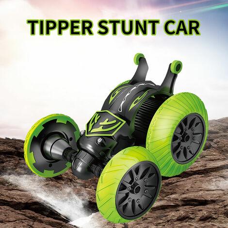 Rc Stunt Car 2.4Ghz 3D Rotating Drift Tripper Stunt Car Escalade Drift Buggy Voiture Deformation Flip Enfants Robots electriques Garcon Jouets