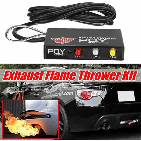 Rcaing Car Engine Performance Rev Limiter Launch Control Power Builder Exhaust Flame Thrower Kit
