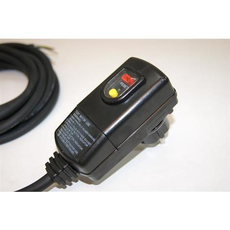 RCD Stecker Anschlusskabelset mit Kabel 3,0m für Whirlpools Mspa Spa Badewanne