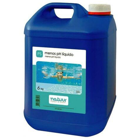 R�ducteur de Ph liquide pour piscine Natuur 6 Kg Nt100245
