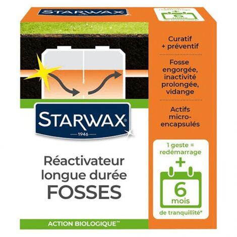 Ré-activateur longue durée pour fosses bloquées Starwax