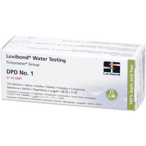 Réactif DPD1 (100 pastilles) testeur électronique Scuba - Lovibond