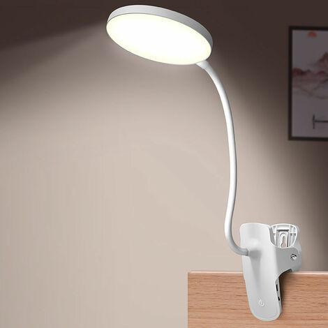 "main image of ""Reading Light, Reading Light Desk Lamp with Clamp Flexible Adjustable Brightness Mode for Reading / Work / Travel"""