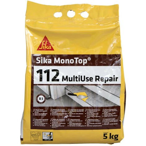 Ready-to-use mortar SIKA Monotop 112 Multiuse Repair - 5kg
