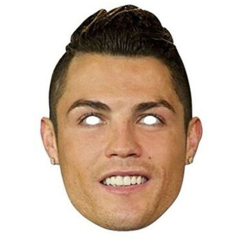 Real Madrid CF Cristiano Ronaldo Mask (One Size) (Multi Coloured)