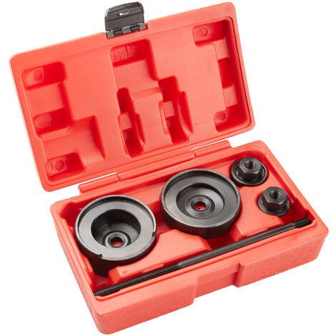 Rear wheel bearing puller tool set - bearing press, bearing removal tool, wheel bearing removal tool - red