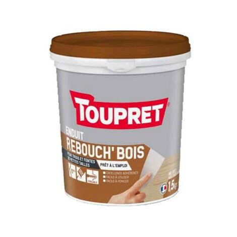 Rebouchage bois Pate TOUPRET 1,5Kg - BCRPBO1.5