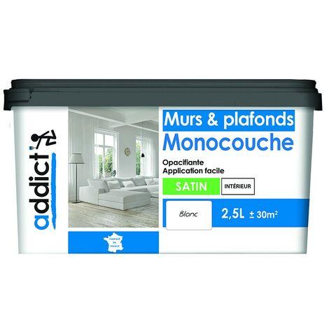 Reca Addict Acryl Monocouche Satin Blanc