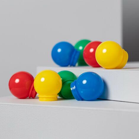 Recambio Bolas para Guirnalda Multicolor 8 unidades Multicolor - Multicolor