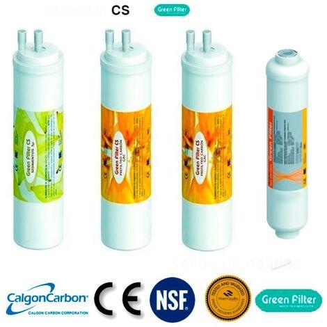 Recambio de filtros osmosis inversa tipo CS