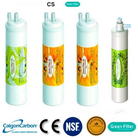 "main image of ""Recambio de filtros osmosis inversa tipo CS - Posfiltro conexion tipo cs"""