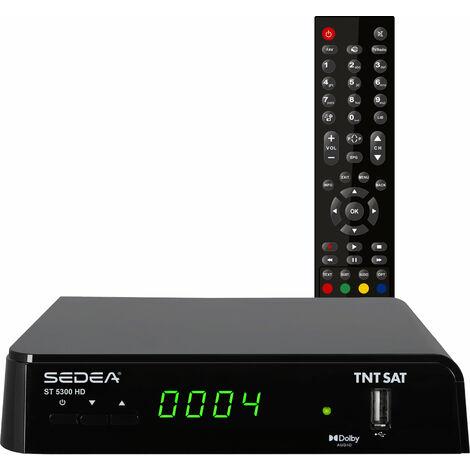 Récepteur/Décodeur Satellite TNTSAT Haute définition ST-5300 HD PVR Ready - SEDEA - 685300