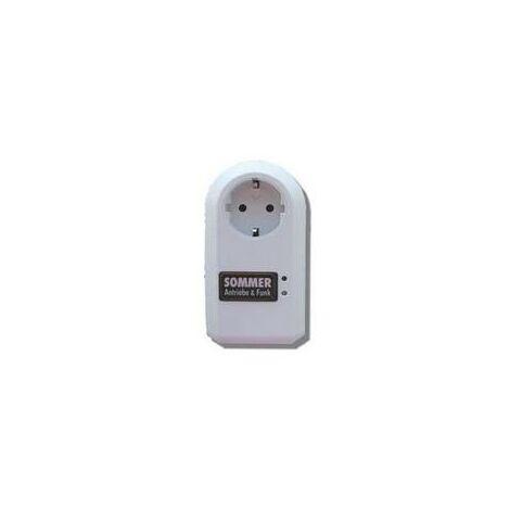Récepteur radio dans un boîtier à prise porte de garage SOMMER - 7006V040.