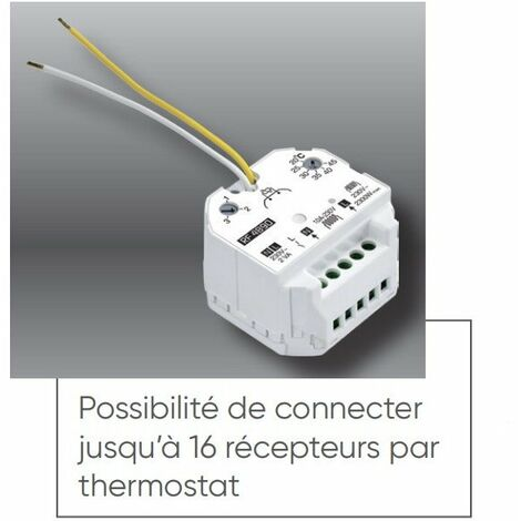 Récepteur thermostat pour film chauffant spécial rénovation Soleka