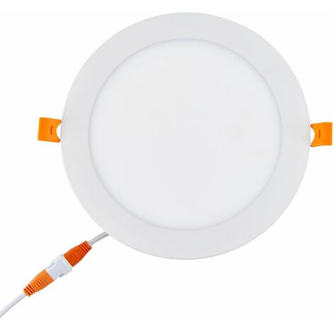 Recessed LED Downlight Dimmable 7.5W Cool White - x8